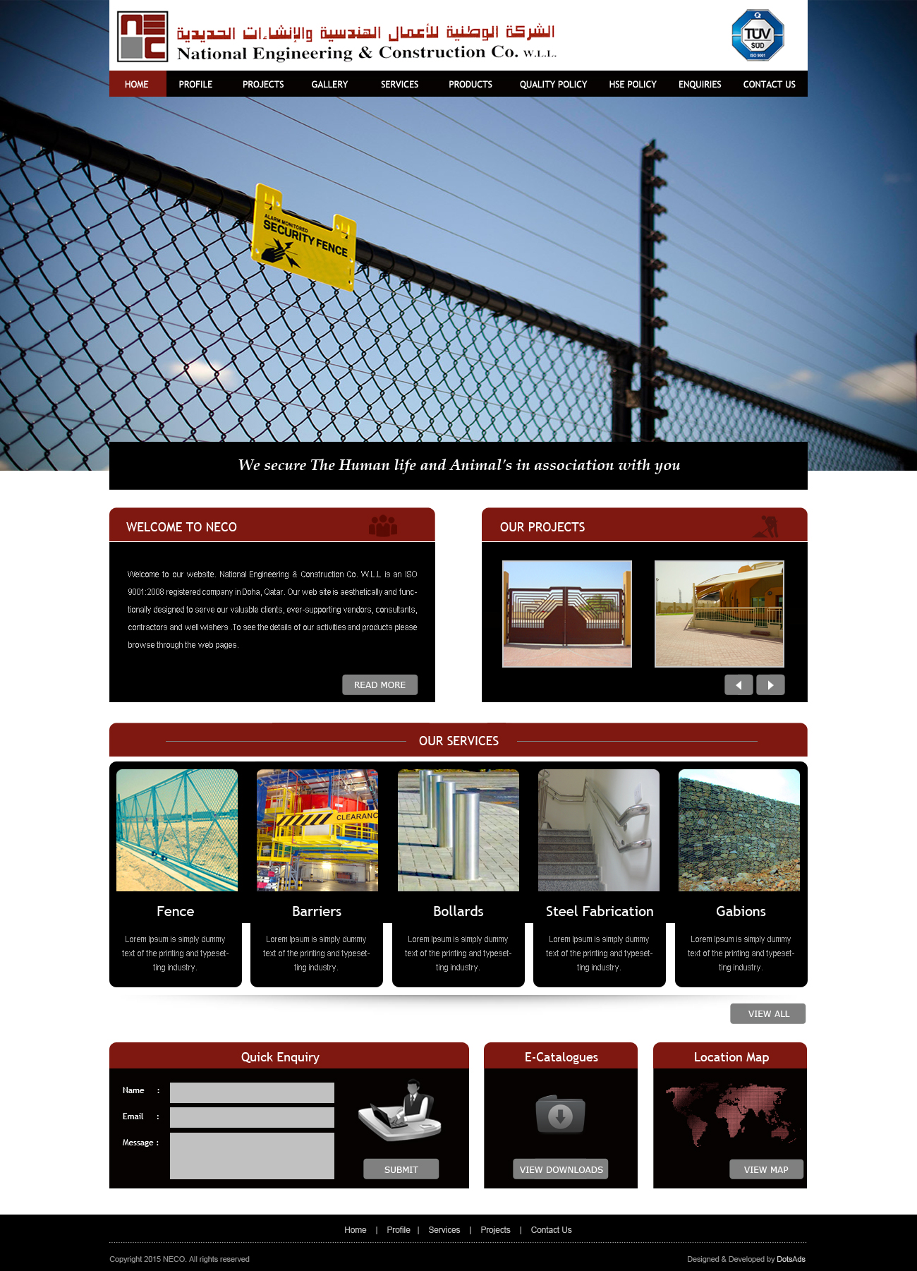 National Engineering & Construction Company  (NECO) | Home